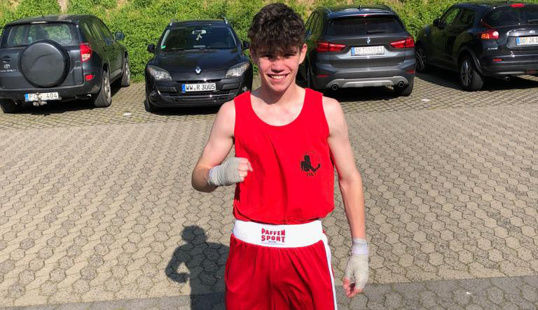 Pascal Quosig siegte in Neuwied